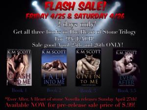 Flash Sale The Heart of Stone Series Sale 2 days only