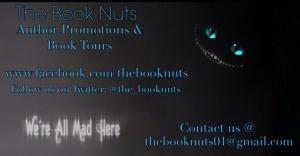 the book nuts author promotions graphic