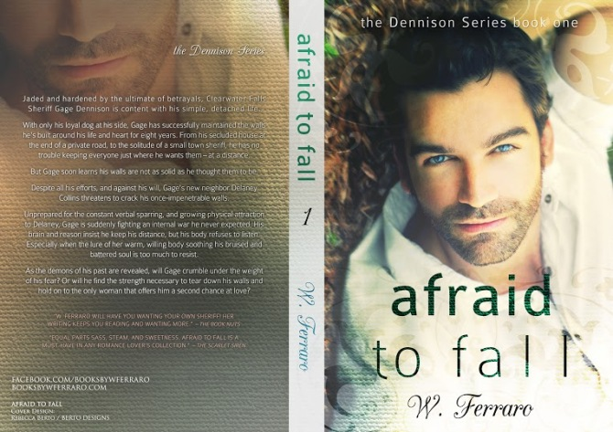 Afraid to fall paperback cover