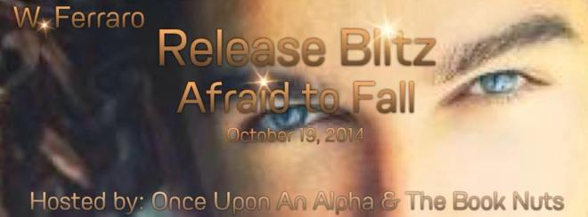 Afraid to Fall release blitz banner