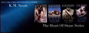 km scott banner heart of stone series for tour