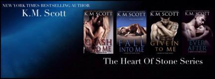km scott banner heart of stone series for tour
