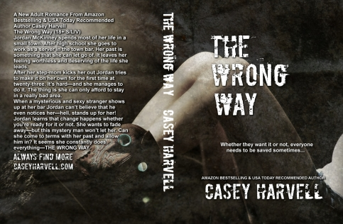 The Wrong Way Full Wrap for Cover Reveal