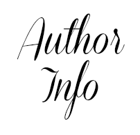 Author info in black