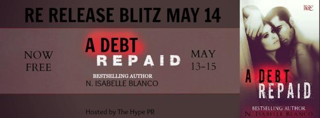 A Debt Repaid Banner
