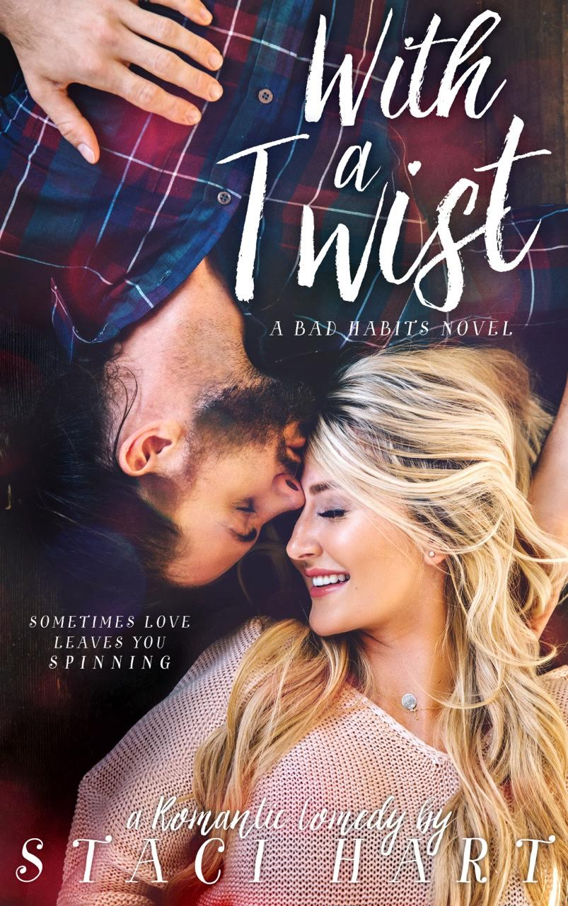Romance Book Cover Review : Review it s release day with a twist by staci hart